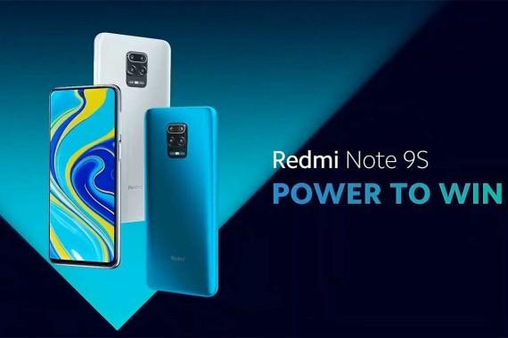 Redmi Note 9S resmi olarak tanıtıldı