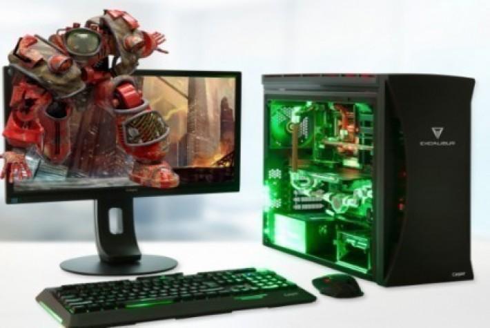 Casper, Şeffaf Tasarımlı Excalibur E800 Masaüstü Bilgisayarı Duyurdu