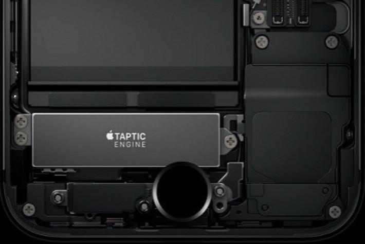 iPhone 7 Plus'da yer alan Taptic Engine'e yakından bakın