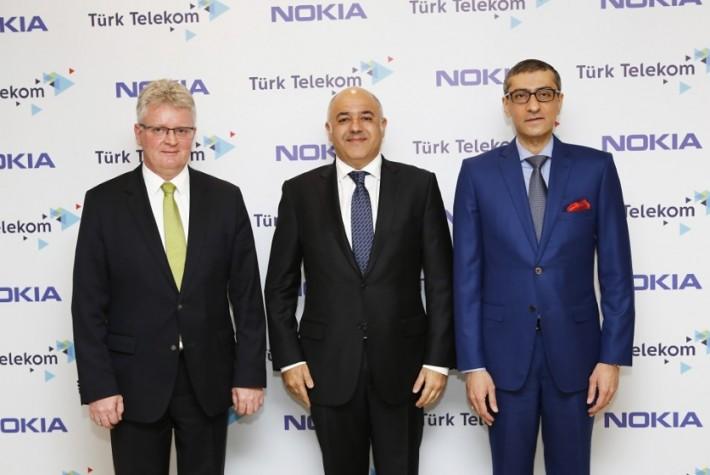 Türk Telekom ve Nokia, 5G Teknolojisi için Güçlerini Birleştirdi