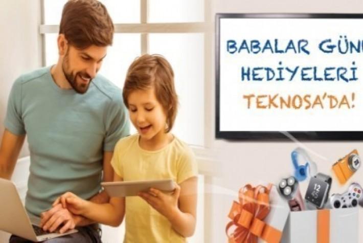 Teknosa, Babalar Günü Kampanyasını Başlattı