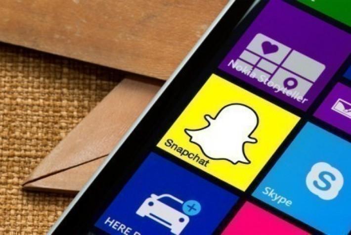 Lumia Destek, Snapchat'in Windows Phone Uygulaması Üzerinde Çalıştığını Belirtti