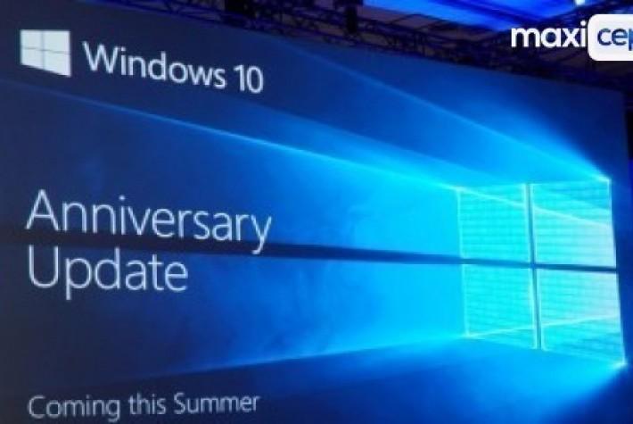 Windows 10 Anniversary Update Yayınlanma Tarihi Belli Oldu