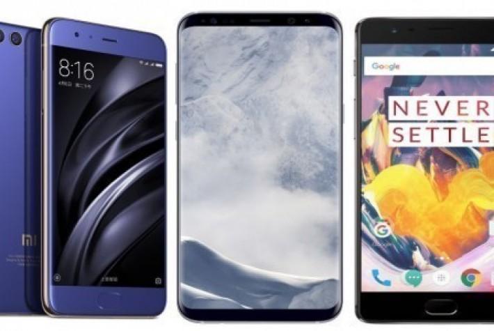 Xiaomi Mi 6 ile Galaxy S8 hız testinde karşı karşıya