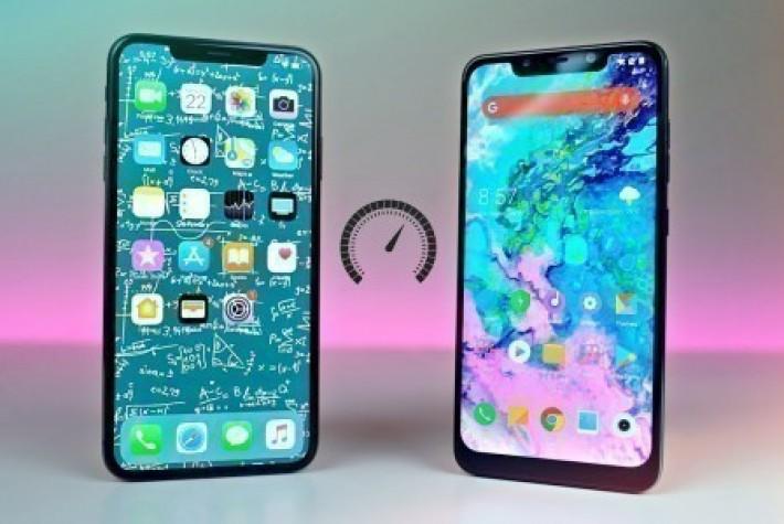 Pocophone F1 mi yoksa iPhone Xs mi daha hızlı?