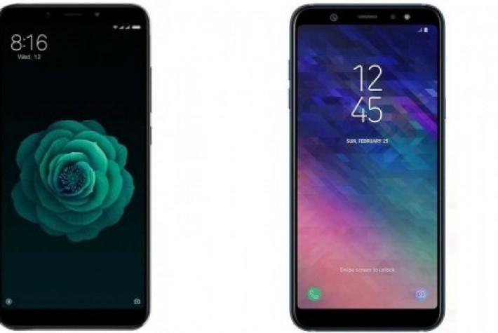 Xiaomi Mi A2ileSamsung Galaxy A6'dan hangisi daha hızlı?