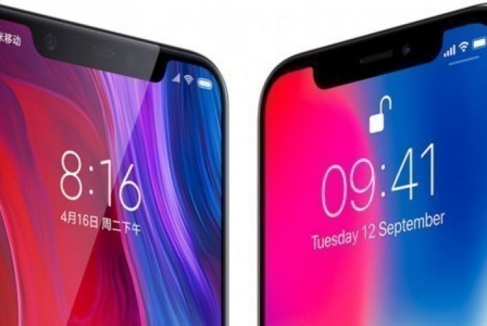 iPhone X ile Xiaomi Mi8 hız testinde karşı karşıya geldi
