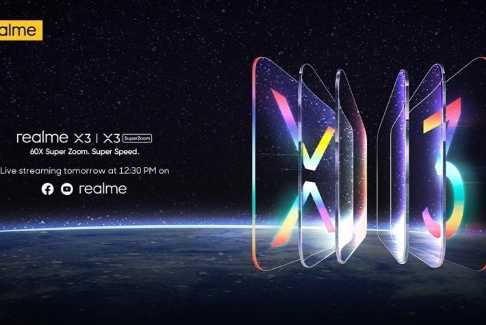 Realme X3 Serisi Tanıtım Etkinliğini Canlı İzleyin