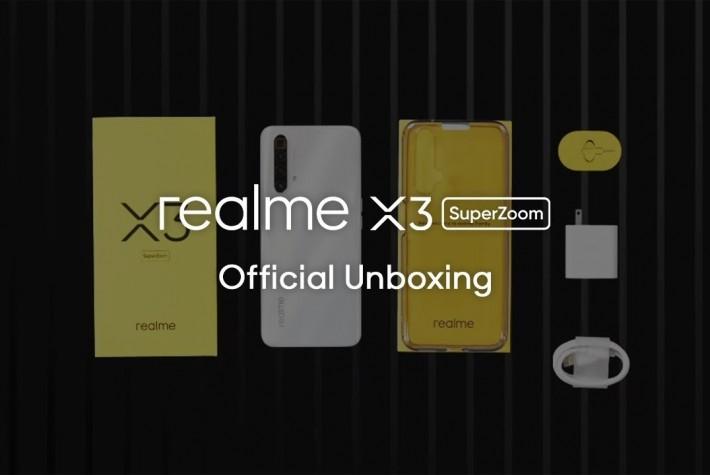 Realme X3 SuperZoom Resmi Kutu Açılışı