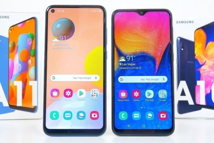 Samsung Galaxy A10 ile A11 Karşılaştırması