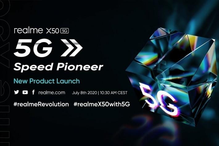 Realme X50 5G Tanıtım Etkinliğini Canlı İzleyin