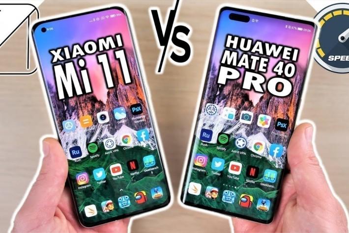 Xiaomi Mi 11 ve Huawei Mate 40 Pro Hız Testi