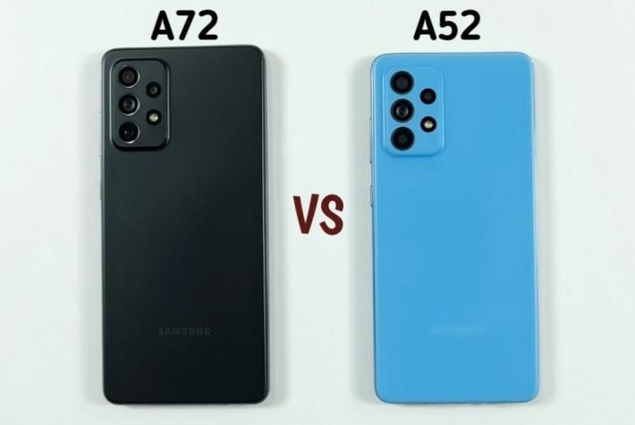 Samsung Galaxy A72 ve A52 Hız & Kamera Karşılaştırması