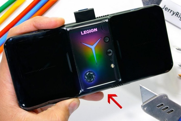 Lenovo Legion Phone Duel 2 Dayanıklılık Testi
